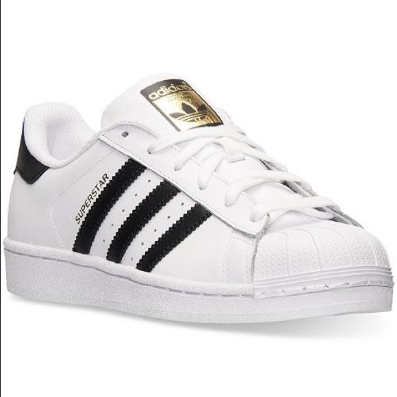 adidas Shoes | White Shell Top Adidas
